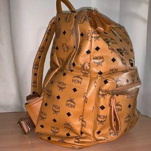 MCM Stark Classic Backpack in Visetos